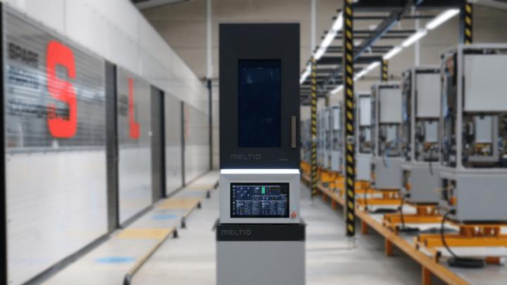 Meltio M450 metal printer