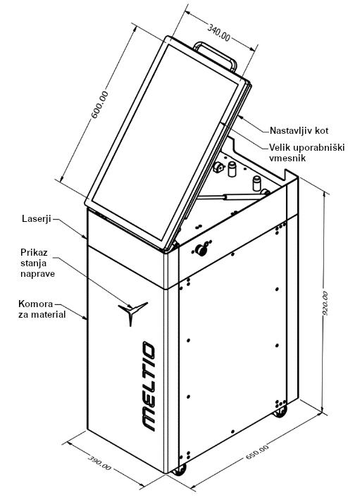 Meltio engine drawing